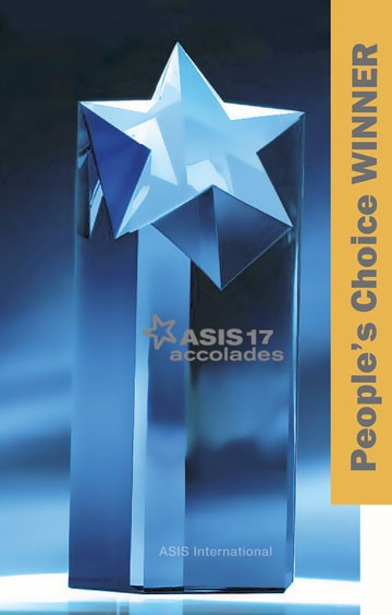 ASIS Accolades People's Choice Award winner