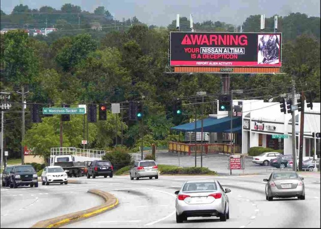 Digital Billboards Integrate with Milestone Video for Attention of Passing Traffic