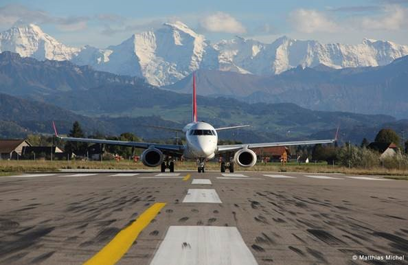 Bern Airport in Switzerland