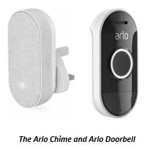 The Arlo Chime and Arlo Doorbell
