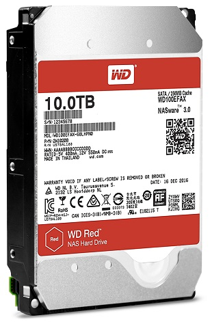 Western Digital Expands Nas Optimized Hard Drive Offerings To 10tb With Advanced Storage Helium Based Wd Red And Wd Red Pro Hard Drives Cctv Buyers Guide And News