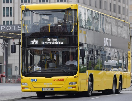 Berlin's buses and trams