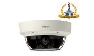 Attached 2. Hanwha Techwin's Gold award-winning 'PNM-9000VQ' camera