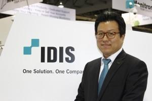 """""""James Min, IDIS Europe MD"""""""