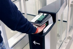 """The EasyGate SPT with biometric fingerprint scanner"""