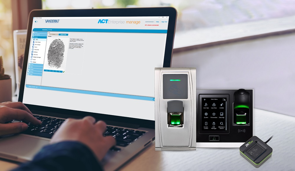 Vanderbilt Biometric reader release