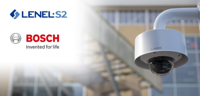 LenelS2 to Resell Bosch IP Cameras
