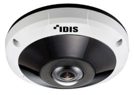 New IDIS 12MP IR Super Fisheye